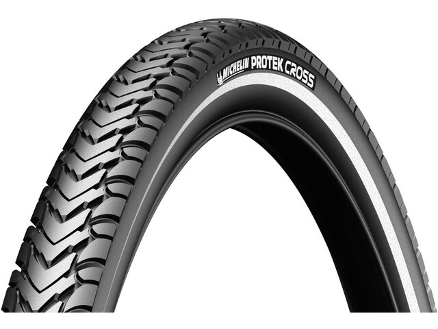 "Michelin Protek Cross Fahrradreifen 26"" Draht Reflex"
